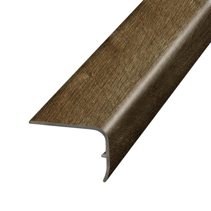 Stony Oak Smoke 1.32 In. Thick X 1.88 In. Wide X 78.7 In. Length Vinyl Stair Nose Molding