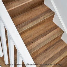 Load image into Gallery viewer, Stony Oak Smoke 1.32 In. Thick X 1.88 In. Wide X 78.7 In. Length Vinyl Stair Nose Molding