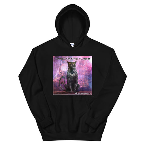 PS the Rebels - Long Live King T'Challa  Unisex Hoodie