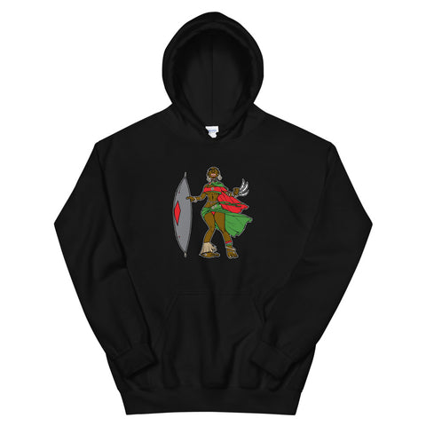 PS the Rebels - Warrior Queen Unisex Hoodie