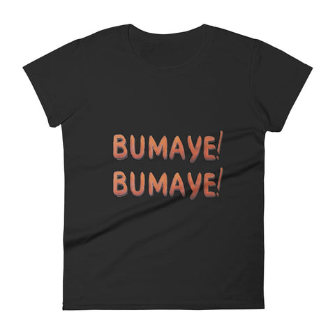 Bumaye! Women's short sleeve T-shirt