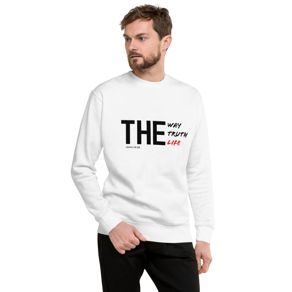 THE WAY TRUTH LIFE Unisex Fleece Pullover