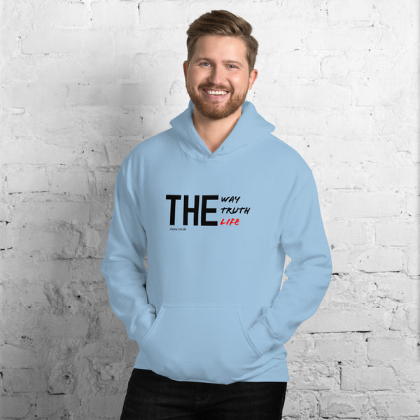 THE WAY TRUTH LIFE (John 14:16) Unisex Hoodie