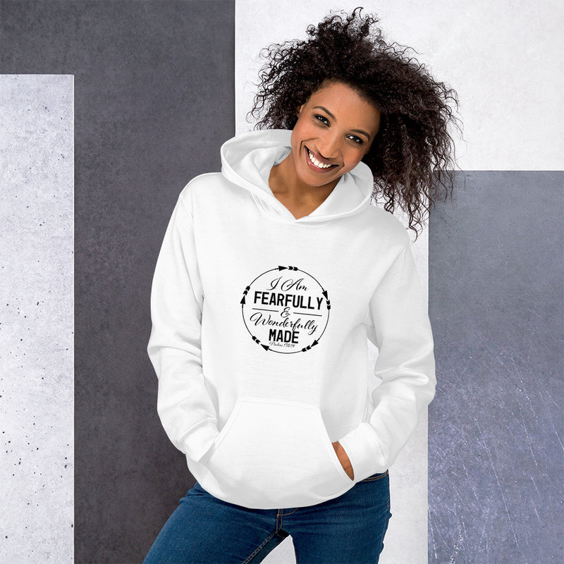 I am fearfully  and wonderfully made Unisex Hoodie