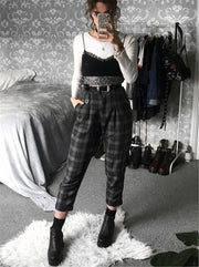 Streetwear Cool Girl High Waist Trouser