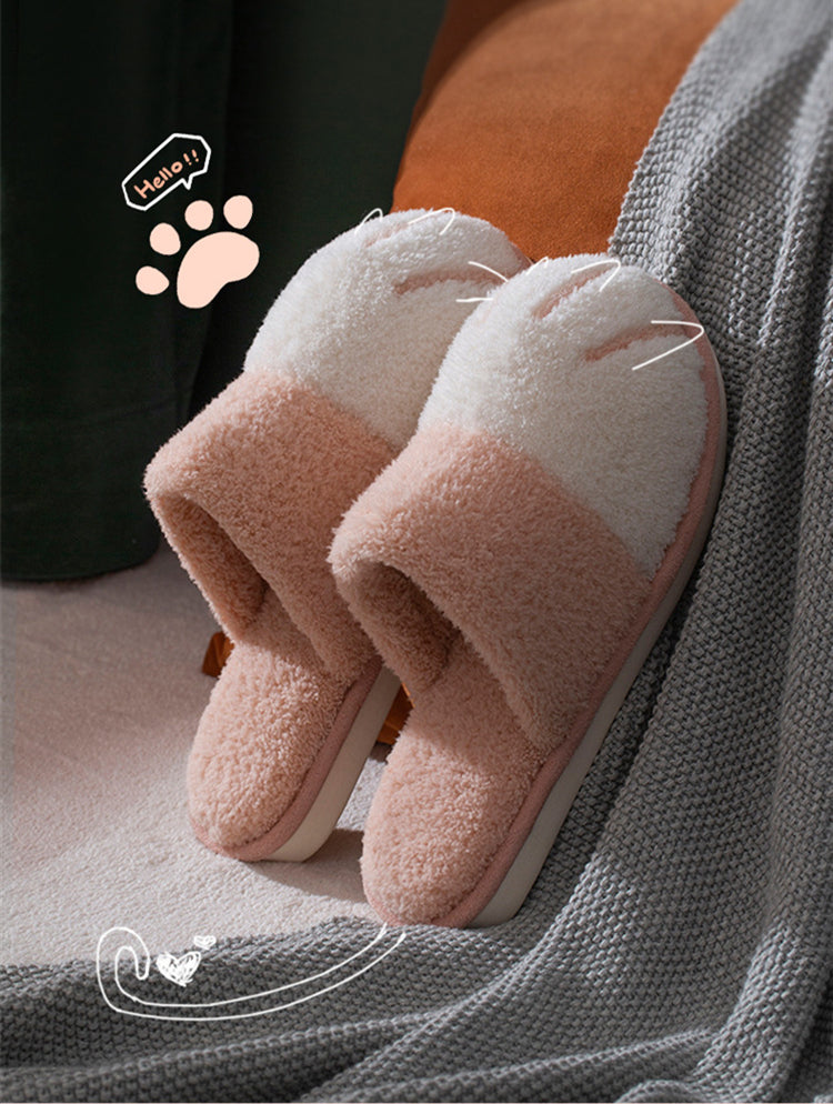 Pawclaws-Indoor Cat Paw Slippers