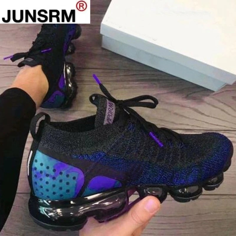 Spring New Style Mesh Breathable Women's Casual Sports Shoes 2021 Fashion Platform Vulcanized Women's Shoes zapatos de mujer Z