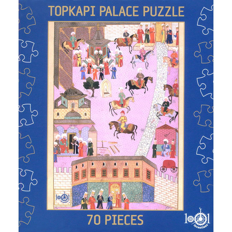 1001 Inventions Jigsaw: Topkapi Palace Puzzle (70 Pieces)