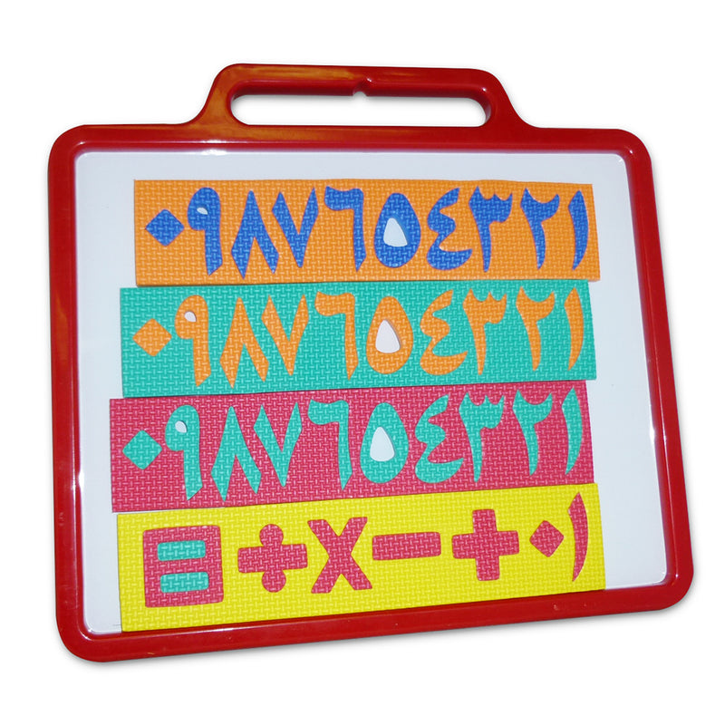 Arabic Numbers Magnetic Board