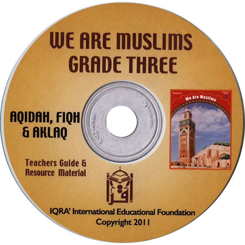 We are Muslims Teacher's Manual : Grade 3 (Data CD)