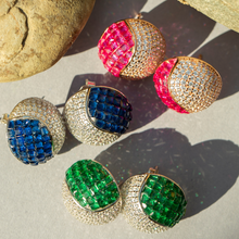 Load image into Gallery viewer, Tennis Ball Luxury Studs