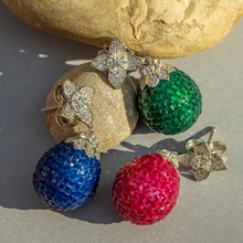 Load image into Gallery viewer, Coronation Egg Earrings