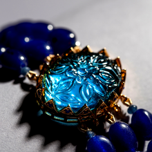 Load image into Gallery viewer, The Shah Bano - Blue Blooded Princess (Choker Set)