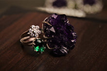 Load image into Gallery viewer, Amethyst Rock Ring