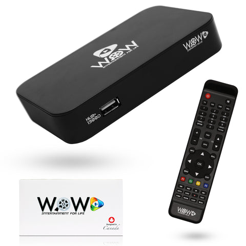 WOW Media  Streaming  Box  | TV Box