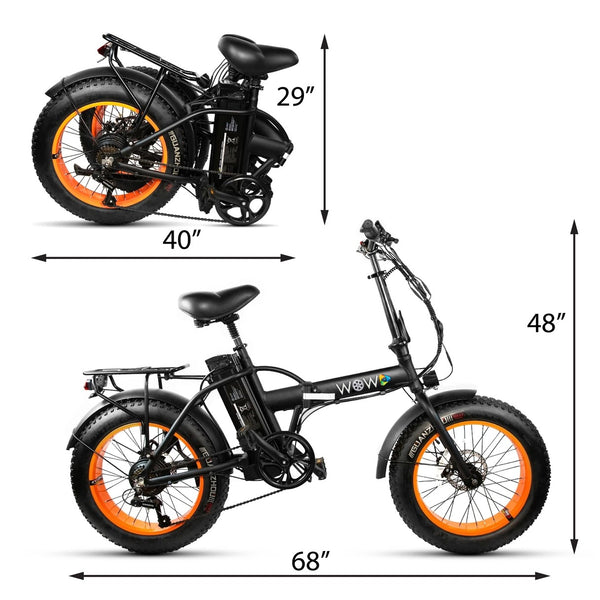 WOW Electric BIKE NEO-3F (Paddle, Paddle Assist & Full Throttle)