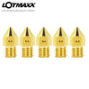 LOTMAXX 0.4mm Extruder Brass Nozzle Print Head 5PCs For SC-10