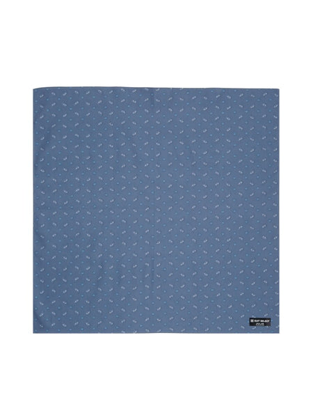 Handkerchief (Mini Paisley Navy)