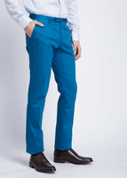 Skinny Cotton Pants (Blue)