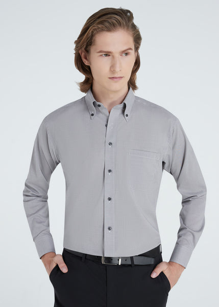 Micro Dot Shirt (Gray)