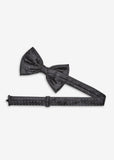 Shadow Dot Bowtie (Black)