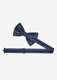 Japan Plain Bowtie (Navy)