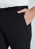 Skinny Cotton Pants (Black)