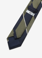 Japan Made Stripe Tie (Green)