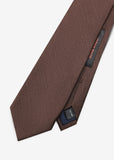 Japan Made Plain Tie (Brown)