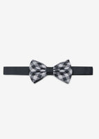 Check Reversible Bowtie (Navy)