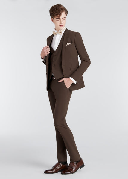 Skinny Suit (Choc Brown)