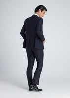 Skinny Shiny Suit (Navy)