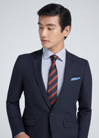 Birds Eye Skinny Suit (Navy)