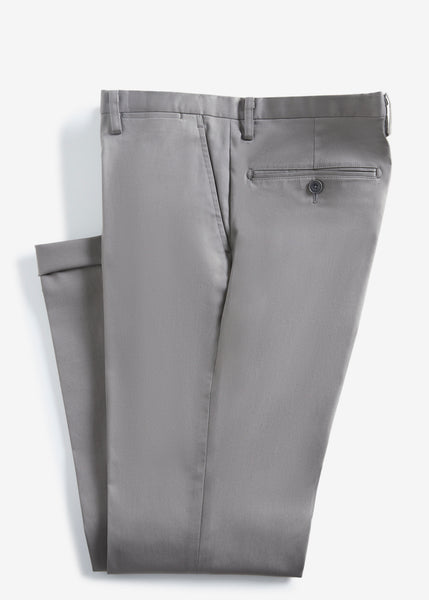 Skinny Cotton Pants (Gray)