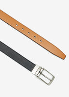 Reversable Belt (Light Brown/Black)