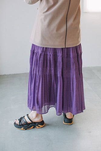 MAJOLICA TIERED SKIRT