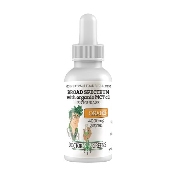 Doctor Green's 4000mg CBD Drops Tinctures 20ml (+ FREE ITEM!)
