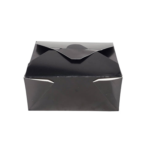 Black Paper Take-out Container