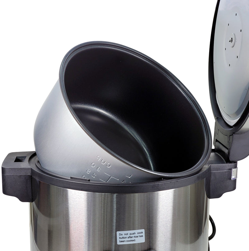 OMCAN - Rice Cooker (60 Cups Cooked)