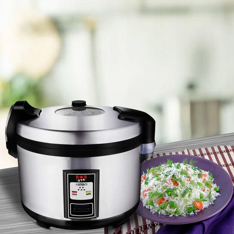 DURA - Deluxe Rice Cooker (60 Cups Cooked)