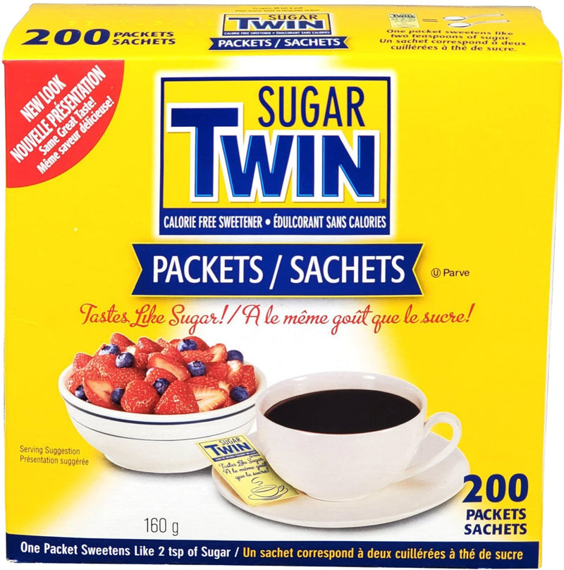 Twin - Portions - Sugar - Calorie Free (200 pcs)