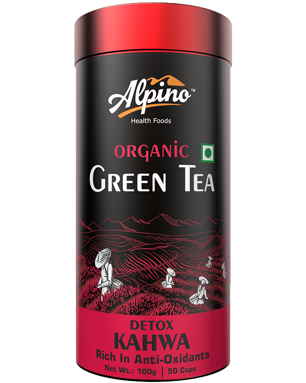 Alpino Certified Organic Green Tea - Detox Kahwa