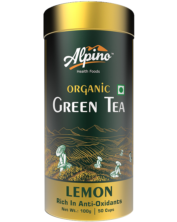 Alpino Certified Organic Green Tea - Lemon
