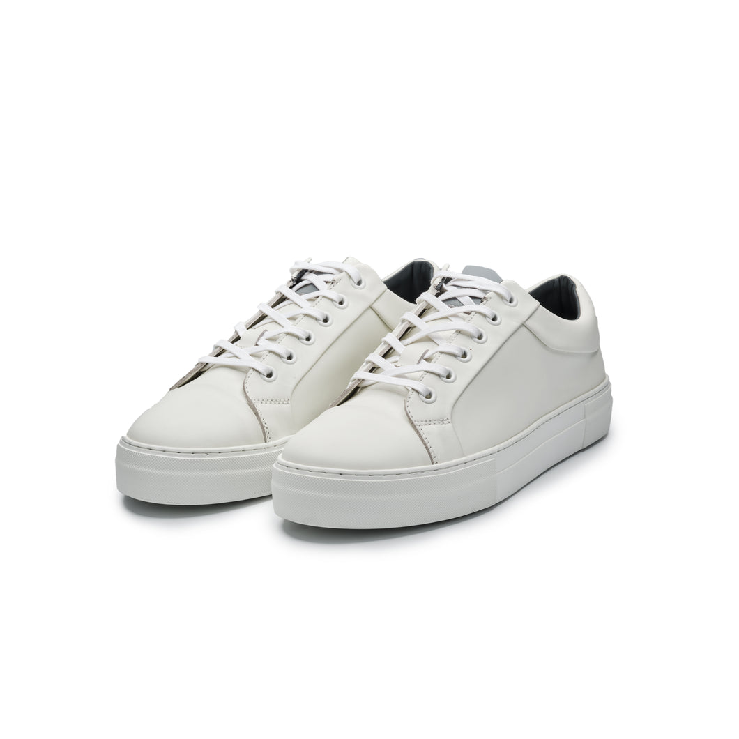 Witte sneakers Yves Carter