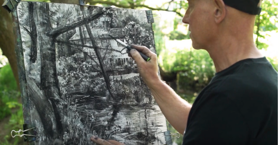 Featured Artist: Expressive Mixed Media Drawing with Robert Dutton