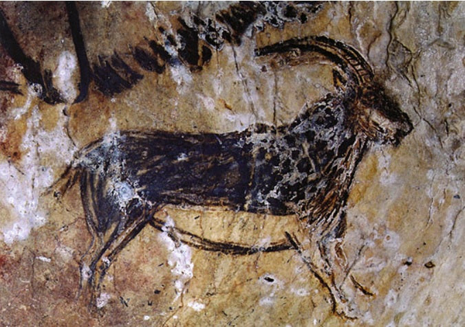 The first recorded use of charcoals as an artistic medium was in cave paintings.