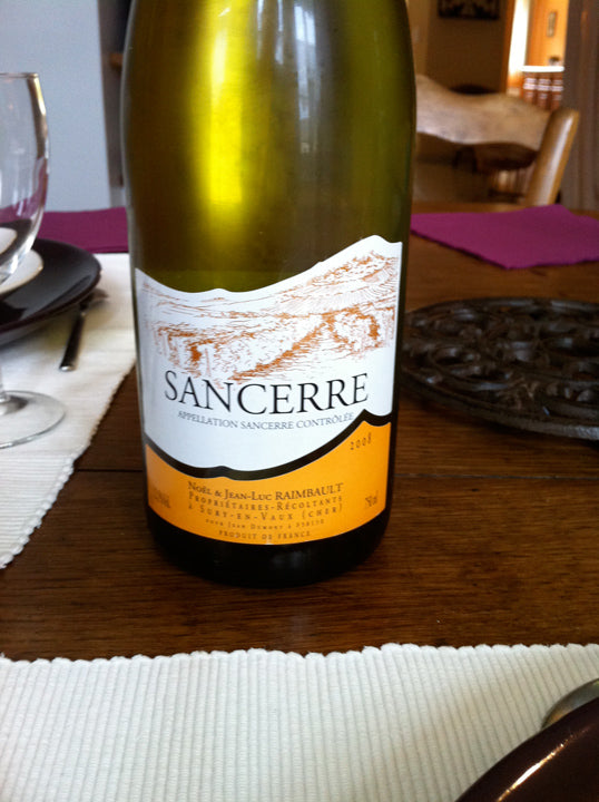 Sancerre - well rounded white wine