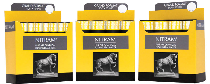 Large Scale Nitram Charcoal