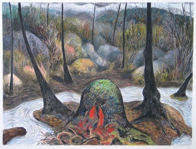 Into the Woods: Recent Drawings by Gabrielle Barzaghi