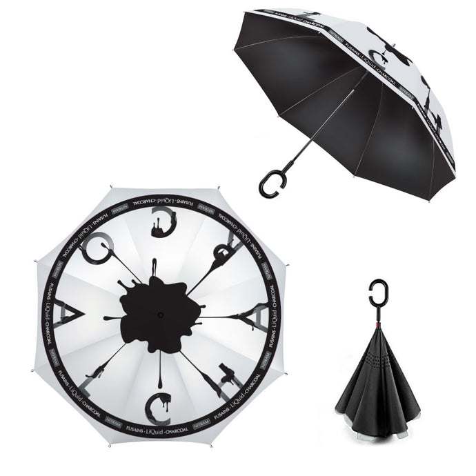 Nitram LiQuid Charcoal Umbrella